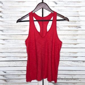 Gap | Body Split Neck Burnout Racerback Tank